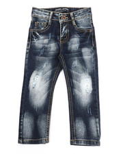 Arcade Styles - Rip & Repair Stretch Jeans (2T-4T)-2327957