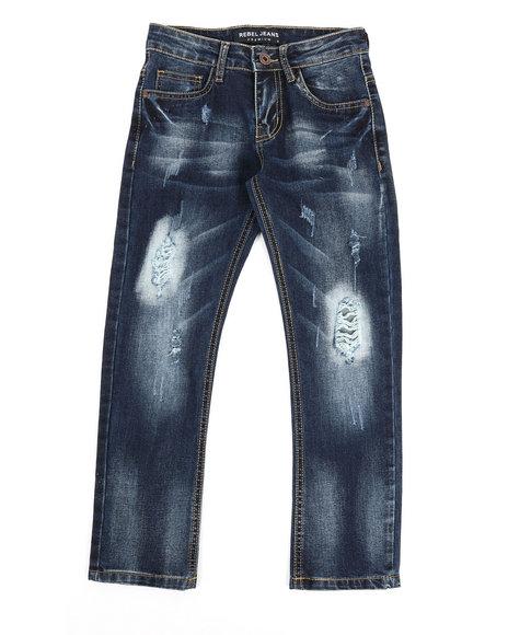 Arcade Styles - Rip & Repair Stretch Jeans (8-20)