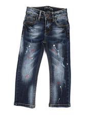 Arcade Styles - Rip & Repair Stretch Jeans (2T-4T)-2327970