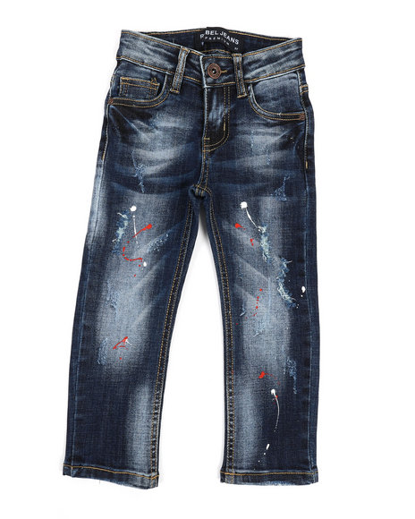 Arcade Styles - Rip & Repair Stretch Jeans (2T-4T)