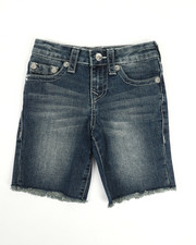 Boys - Slim Single End Shorts (4-7)-2201394
