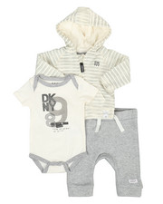 DKNY Jeans - DK Uptown Baby 3 Piece Jacket Set (0-9MO)-2327270