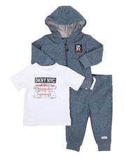Boys - DKNY NYC 3 Piece Jacket Set (12-24MO)-2327317