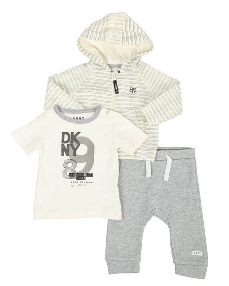 DKNY Jeans - DK Uptown Baby 3 Piece Jacket Set (12-24MO)