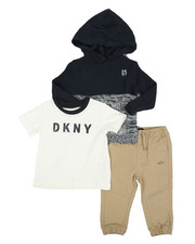 DKNY Jeans - Big Apple 3Pc Set (Infant)-2326795
