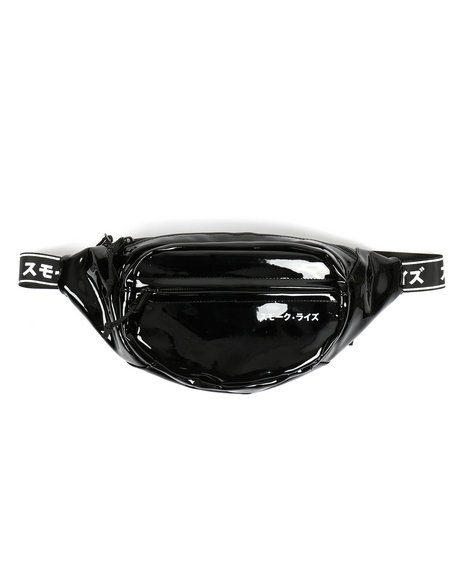 SMOKE RISE - Patent Colorblock Fanny Pack