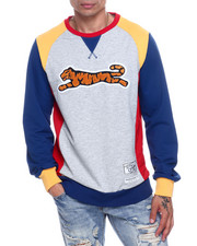 Global Movement Mens - Retro Logo Crewneck Sweatshirt-2332218