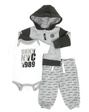 Boys - NYC 1989 3 Piece Jacket Set (Infant)-2327092
