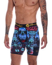 Privilege Society - Blue Lion Boxer Brief-2330951