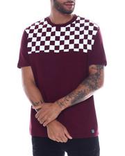 Men - Checkerboard Shoulder tee-2332898