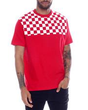 Men - Checkerboard Shoulder tee-2332885