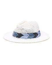 Fashion Lab - Packable Fedora Hat-2331688