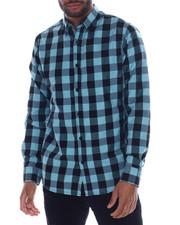 Button-downs - Buffalo Plaid LS Woven Shirt-2332776