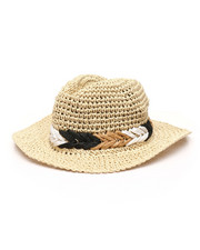 Fashion Lab - Packable Fedora Hat-2331687
