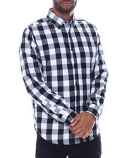 Button-downs - Buffalo Plaid LS Woven Shirt-2332819