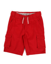 Bottoms - Shorts W/ Marled Drawcord (8=20)-2327887