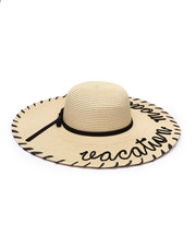 Hats - Vacation Mode Whipstich Floppy Hat-2331677