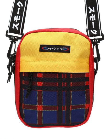 SMOKE RISE - Tartan Shoulder Bag