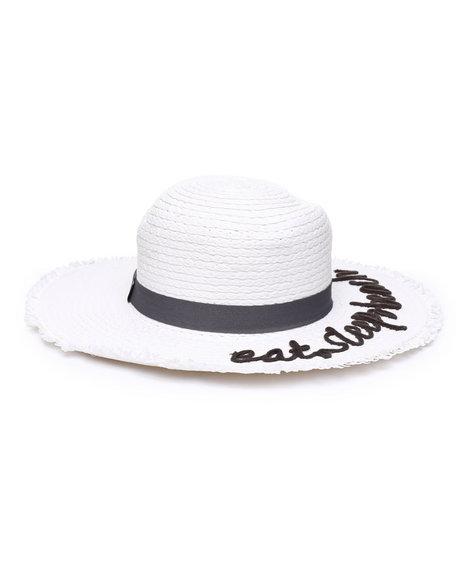 Fashion Lab - Eat Sleep Beach Sun Hat