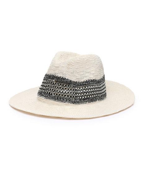 Fashion Lab - Knit Panama Hat