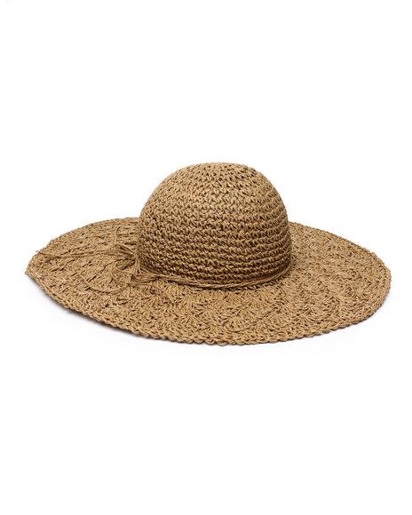 Fashion Lab - Braided Bow Floppy Hat