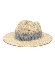 Fashion Lab - Lurex Panama Hat-2331684