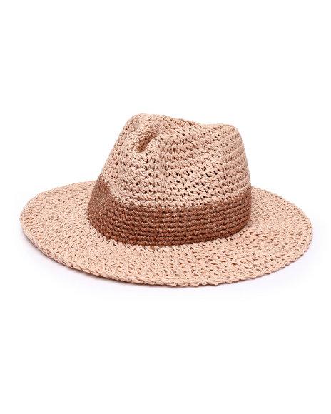 Fashion Lab - Lurex Panama Hat