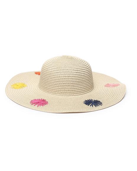 Fashion Lab - Sunburst Multi Floppy Hat