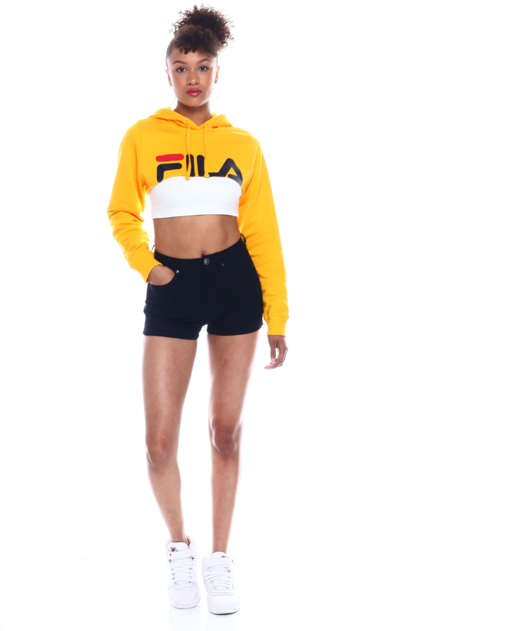 04ffc1b8 Buy Nelia Shrug Hoodie Women's Hoodies from Fila. Find Fila fashion ...
