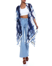 Fashion Tops - Aztec Tie Dye Kimono-2333524