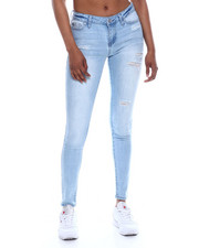 Jeans - Distressed 5 Pocket Skinny Jean-2333292