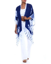 Fashion Tops - Tie Dye Kimono-2333394