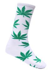 DRJ SOCK SHOP - Weed Plant Socks-2332633