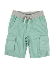 Bottoms - Shorts W/ Marled Drawcord (8-20)-2327867