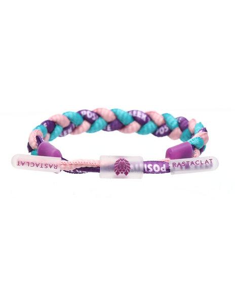 Rastaclat - Positive Braided Bracelet