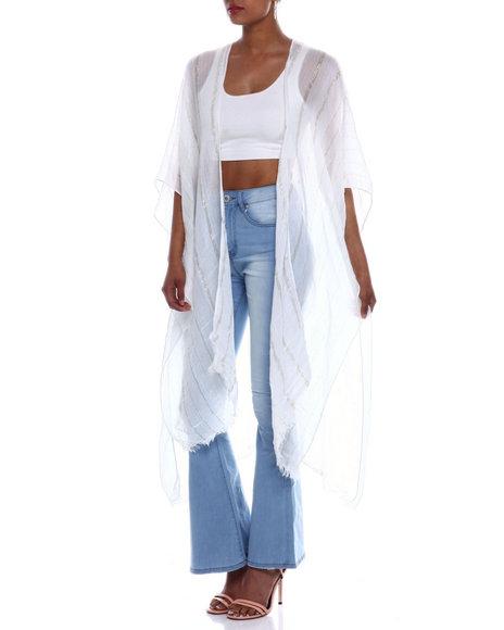 Fashion Lab - Lurex Tie Cover Up