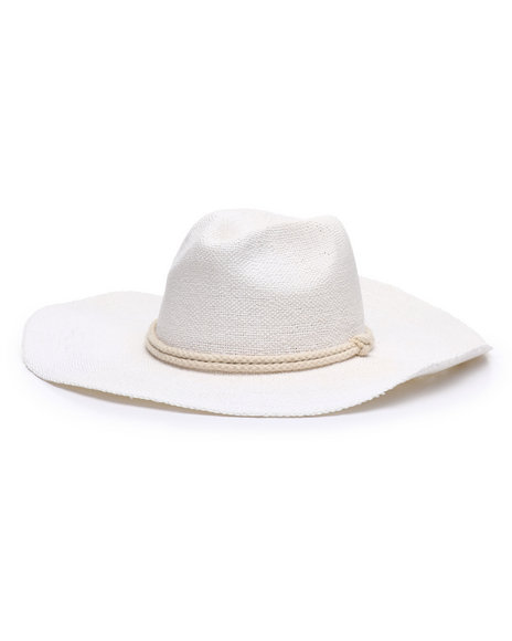 Fashion Lab - Botto Wide Brim Panama Hat