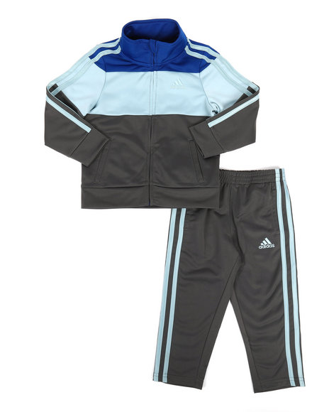Adidas - Color Block Track Set (2T-4T)