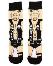DRJ SOCK SHOP - Steve Austin Crew Socks-2333286