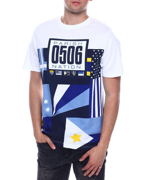 Parish - NAUTICAL FLAG TEE