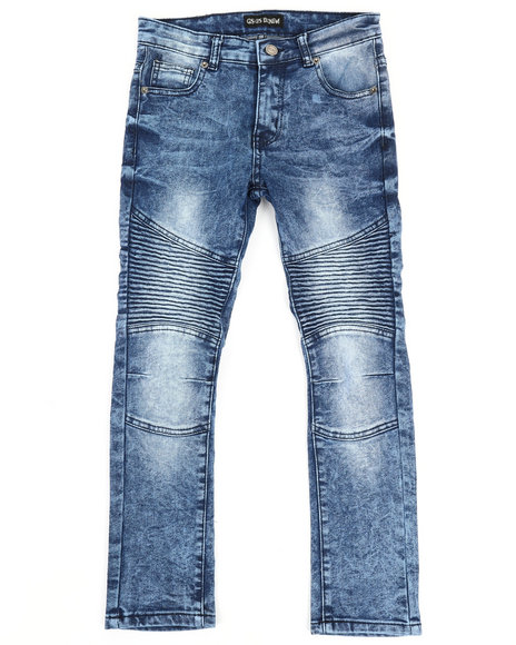 Arcade Styles - Stretch Moto Basic Jeans (8-20)