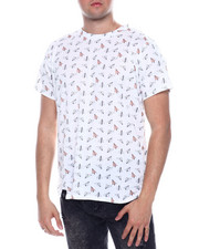 Shirts - PAPER PLANE ALL OVER PRINT TEE-2334160