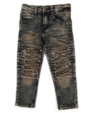 Boys - Stretch Moto Jeans (2T-4T)-2331782