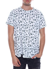 Buyers Picks - TAGGED GRAFFITI  ALL OVER PRINT TEE-2334150