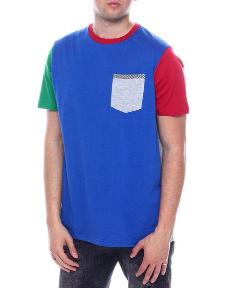 Buyers Picks - COLORBLOCK POCKET TEE