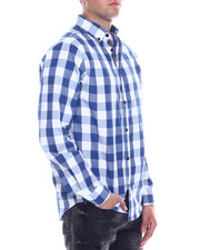 Buyers Picks - Buffalo Plaid LS Woven Shirt-2334757