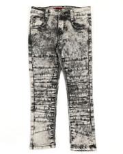 Boys - Stretch Moto Jeans (4-7)-2331790