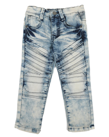 Arcade Styles - Stretch Moto Jeans (2T-4T)