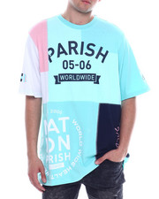 Parish - COLORBLOCK LOGO TEE-2334092