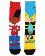 DRJ SOCK SHOP - Hillwood Boys Crew Socks-2333277